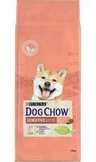 """Dog Chow Sensitive """"Лосось"""" - Сухой корм для собак (14 кг)"""