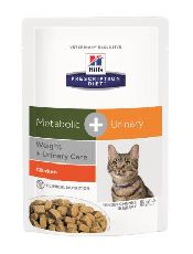 """Hills PD Feline Metabolic+Urinary - ПАУЧ ДЛЯ КОШЕК"