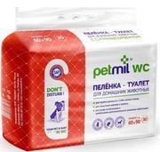 """PETMIL WC - Гелевые пелёнки для животных( 60 х 90 см)"