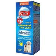 Cliny - Лосьон очищающий для ушей для собак и кошек