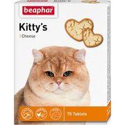 "BEAPHAR ""KITTY CHEESE` - ВИТАМИНЫ ДЛЯ КОШЕК СО ВКУСОМ  СЫРА"