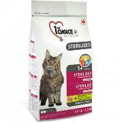 1st CHOICE STERILISED (КУРИЦА И БАТАТ) - Сухой корм для кошек