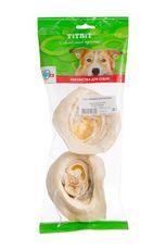 Titbit - ухо говяжье внутренее для собак (мягкая упаковка)