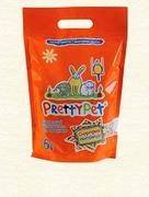 """Pretty Pet """"Наполнитель древесный с морковными чипсами"""" - Наполнитель для грызунов"""