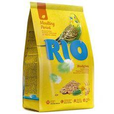 Рио - корм для волнистых попугайчиков в период линьки