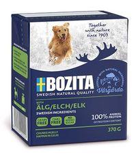 Bozita naturals кусочки в желе с мясом лося - консервы для собак