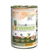 Trainer Fitness3 No Gluten Medium/Maxi Adult Duck and Rice - Консервы для собак