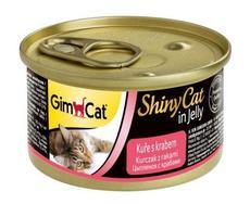 Gimpet shinycat - цыпленок с крабами в желе