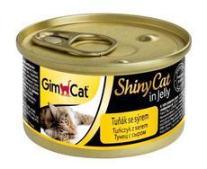 Gimpet shinycat -тунец с сыром в желе
