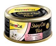 """Gimpet ShinyCat Filet - """"ЦЫПЛЕНОК С КРЕВЕТКАМИ"""""""