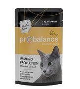 """ProBalans """"Immuno кролик"""" - Консервы для кошек"""