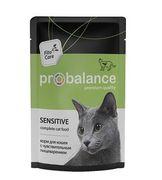 """ProBalans """"Sensitive"""" - Консервы для кошек с чувствительным пищеварением"""