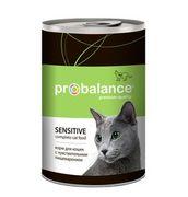 """""""ProBalans """"Sensitive"""" - Консервы для кошек с чувствительным пищеварением"""