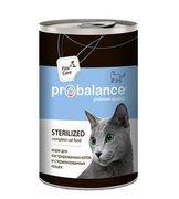 """""""ProBalans """"Sterilised"""" - Консервы для кошек"""