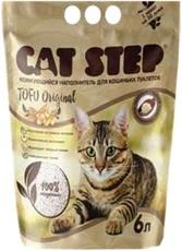 Cat step tofu original растительный комкующийся - наполнитель