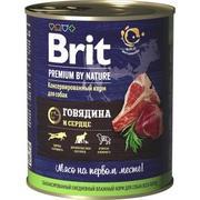 """Brit """"Говядина и сердце"""" - КОНСЕРВЫ ДЛЯ СОБАК"""