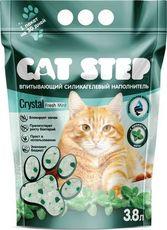 Cat step силикагель fresh mint - наполнитель