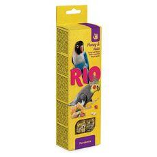 Rio - палочки для средних попугайчиков с медом