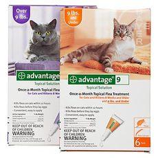 Адвантейдж - капли для кошек от блох