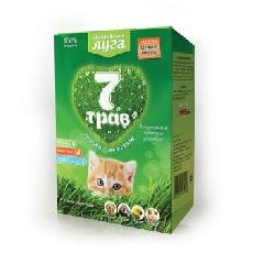 Альпиские луга - травка для кошек (лоток)