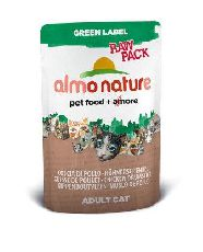 """almo nature classic raw pack ""куриная ножка"" - консервы для кошек (пауч)"