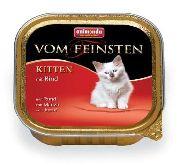 Корм для котят ANIMONDA Von Feinsten Kitten - КОНСЕРВЫ С ГОВЯДИНОЙ ДЛЯ КОТЯТ