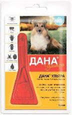 Дана ультра - капли от блох для собак 10-20 кг