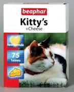 "BEAPHAR ""KITTY`S+CHEESE` - ВИТАМИНЫ ДЛЯ КОШЕК СО ВКУСОМ  СЫРА"