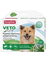 Beaphar bio spot on - капли от блох, клещей и комаров для собак средних пород