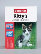 "Beaphar ""Kitty`s Junior - ВИТАМИНЫ ДЛЯ КОТЯТ"