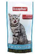 BEAPHAR Cat a Dent Bits - ПОДУШЕЧКИ ДЛЯ ЧИСТКИ ЗУБОВ У КОШЕК