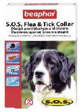 Beaphar s.o.s - ошейник от блох и клещей для собак (70 см)