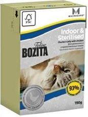 Bozita funktion indoor & sterilised - консервы для домашних кошек