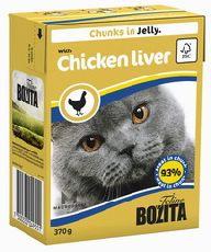 Bozita - кусочки в желе с куриной печенью