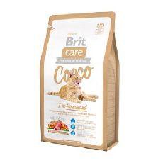 Brit care cat cocco gourmand - сухой корм для кошек