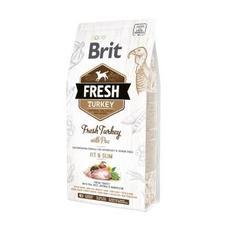 Brit fresh turkey with pea - сухой корм для собак