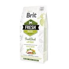Brit fresh duck with millet - сухой корм для собак
