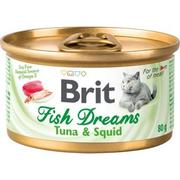 "BRIT FISH DREAMS ""ТУНЕЦ И КАЛЬМАРЫ"" - КОНСЕРВЫ ДЛЯ КОШЕК"
