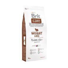 Brit care weight loss rabbit & rice - сухой корм для собак