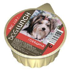 Doglunch крем суфле говядина - консервы для собак