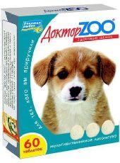 Доктор зоо - витамины для щенков
