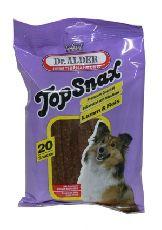 """Dr. alders top snax """"лакомые мясные пластинки с ягненком"""" - лакомство для собак"""