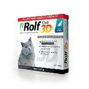 ROLF CLUB 3D - ОШЕЙНИК ДЛЯ КОШЕК ОТ КЛЕЩЕЙ И БЛОХ