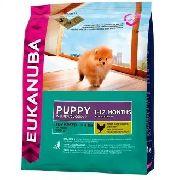Eukanuba Puppy Toy Breed - СУХОЙ КОРМ ДЛЯ ЩЕНКОВ МИНИАТЮРНЫХ ПОРОД
