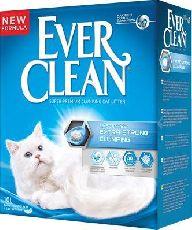Наполнитель ever clean extra strong clumping unscented (голубая полоса)