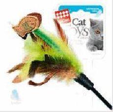 Gigwi - дразнилка для кошек с рыбками на длиной палке (75017)