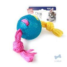"""Gigwi - игрушка для собак """"мячик на веревке""""(75253)"""