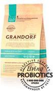 Grandorf 4Meat & Brown Rice Adult Indoor PROBIOTIC - Сухой корм для кошек 4 вида мяса с бурым рисом