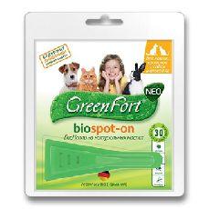 Green fort neo - био капли для кошек