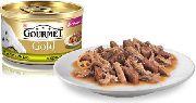 Gourmet Gold - КРОЛИК И ПЕЧЕНЬ (КУСОЧКИ В ПОДЛИВКЕ)
